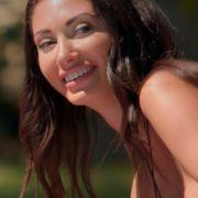 Dieser Striptease lässt Freundin Francesca Farago strahlen (Foto)