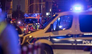 In Fulda wurde ein Mann in einem Auto mit augenscheinlichen Schussverletzungen aufgefunden. (Foto)