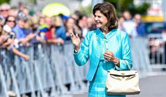Königin Silvia von Schweden hat sich das Handgelenk bei einem Sturz gebrochen. (Foto)