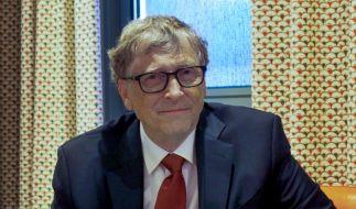 Bill Gates warf einen Blick in die Zukunft der Menschheit. (Foto)