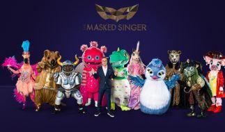 """Die zehn Masken von """"The Masked Singer"""" 2021. (Foto)"""