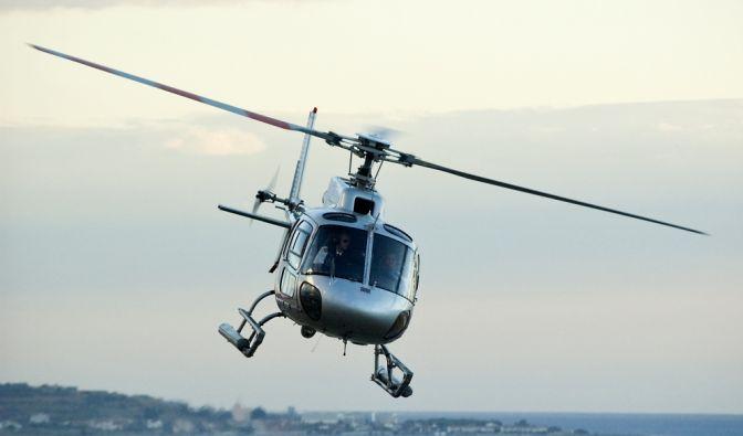 Hubschrauber-Absturz über den Jungferninseln