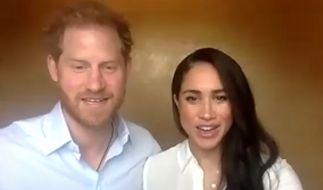 Prinz Harry und Herzogin Meghan könnten der britischen Krone mit ihrem Interview bei Oprah Winfrey Schaden zufügen. Wie weit wird das Herzogspaar gehen? (Foto)