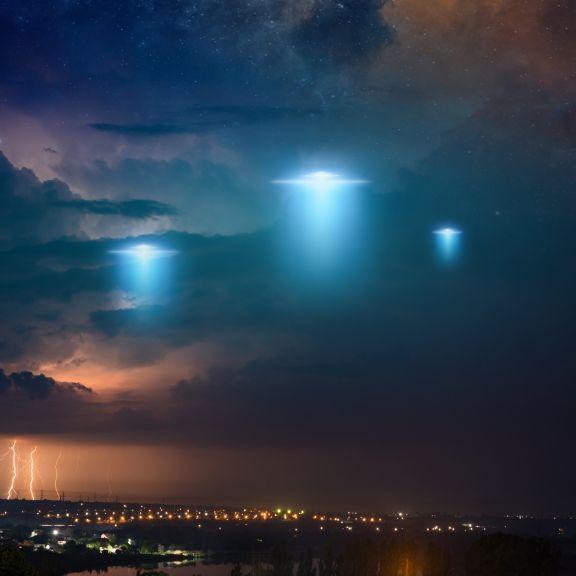 UFO landet auf Farm von Hühner-Bauer - und hinterlässt DIESEN Beweis (Foto)
