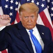 Todes-Schock für den Ex-Präsidenten! Für IHN bricht Trump sein Schweigen (Foto)