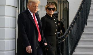 Wie steht es wirklich um Donalds und Melanias Ehe? (Foto)