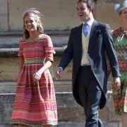 Cressida Bonas, die ehemalige Freundin von Prinz Harry, kommt zur Trauung von Harry und Meghan in der St.-Georgs-Kapelle.