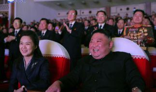 Kim Jong-uns Ehefrau Ri Sol-ju soll ein regelrechtes Luxusleben führen. (Foto)