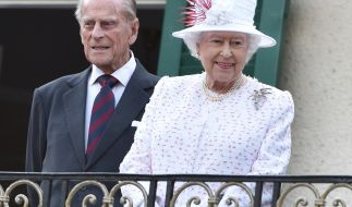 Queen Elizabeth und Prinz Philip (Foto)