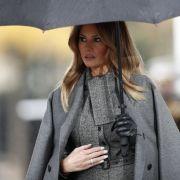 1. Foto nach der Trennung! Donald Trumps Frau wieder aufgetaucht (Foto)