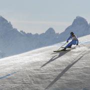 Ski-Ass Weidle im Super-G abgeschlagen - Lie stürzt schwer (Foto)