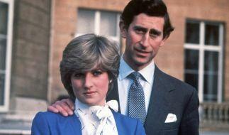 Eine Liebe, die schon bei der Verlobung zum Scheitern verurteilt war: Lady Diana Spencer und Prinz Charles bei der Bekanntgabe ihrer Verlobung am 24. Februar 1981. (Foto)