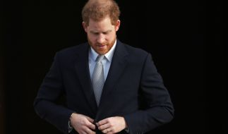 Auch Prinz Harry, Herzog von Sussex, ist in Sorge um Prinz Philip. (Foto)
