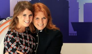 Sarah Ferguson ist außer sich vor Freude: Ihre Tochter Eugenie (30) hat der Herzogin von York ihren ersten Enkel geschenkt. (Foto)
