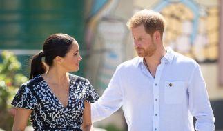Die Briten haben nach dem Megxit kein Interesse mehr an Meghan Markle und Prinz Harry. (Foto)