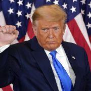 Verkündet er am Wochenende sein Comeback als US-Präsident? (Foto)