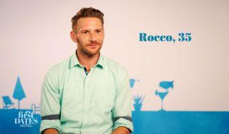 Zwischen Barkeeper Rocco und Kandidatin Jacqueline schien es gewaltig gefunkt zu haben (Foto)