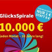 10.000 € pro Monat für 20 Jahre liegen im Jackpot bei der Rentenlotterie bereit (Foto)