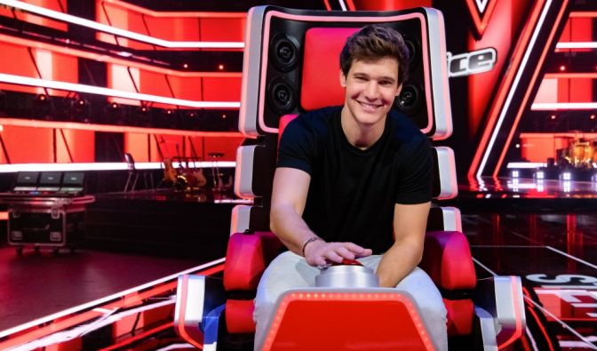"""The Voice Kids""-Coach Wincent Weiss"