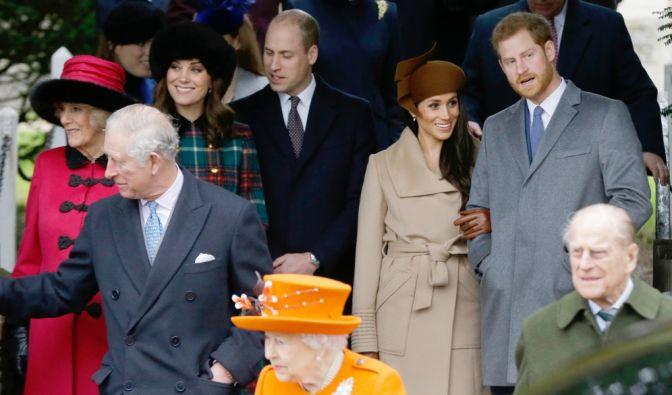 Prinz Philip, Kate Middleton, Meghan Markle