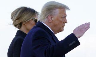 Bei Donald und Melania Trump wird wieder einmal über eine Scheidung spekuliert. (Foto)