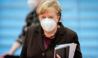 Bundeskanzlerin Angela Merkel berät sich am Mittwoch (03.03.2021) mit den Ministerpräsidenten der Länder zum weiteren Vorgehen in der Coronakrise. (Foto)