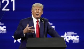 Donald Trump ließ sich angeblich heimlich gegen das Coronavirus impfen. (Foto)