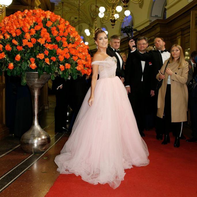 Prunk-Hochzeit! So luxuriös hat die Moderatorin geheiratet (Foto)