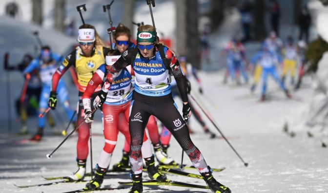 Biathlon Weltcup 2020/21 in Nove Mesto