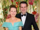 Hubertus Heil und seine Frau Solveig Orlowski beim 67. Bundespresseball im Hotel Adlon im Jahr 2018. (Foto)