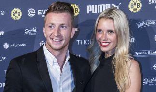 Scarlett Gartmann mit ihrem Ehemann Marco Reus. (Foto)