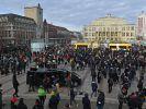 Am 06.03. demonstrieren Corona-Gegner wieder in Leipzig. (Foto)