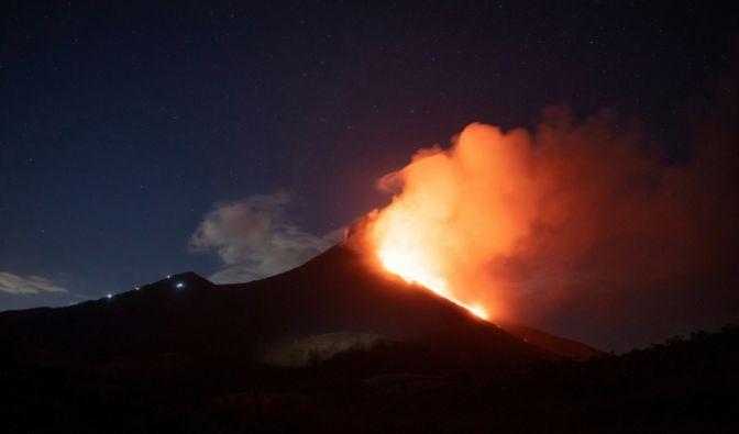 Bilder des Vulkanausbruchs in Guatemala (Foto)