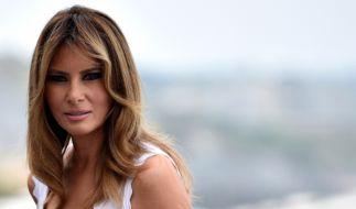 """Melania Trump könnte schon bald wieder ins Weiße Haus einziehen. Laut Donald Trump ist sie """"die zukünftige First Lady"""" (Foto)"""