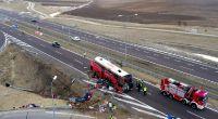 Bei einem schweren Busunglück in Polen sind mehrer Menschen ums Leben gekommen. (Foto)
