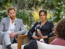 Meghan Markle und Prinz Harry während ihres Interviews mit Oprah. (Foto)
