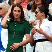 Die Wahrheit über ihren Streit: Herzogin Kate brachte Meghan zum Weinen! (Foto)