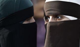 Das Burka-Verbot sorgt für viel Entsetzen im Netz und in den Medien. (Foto)