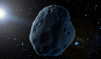 In dieser Wochen erreichen gleich mehrere riesige Asteroiden ihren erdnächsten Punkt. (Foto)