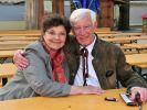 Monika Baumgartner beim Geburtstagsempfang zum 85. Geburtstag ihres Kollegen Siegfried Rauch im Jahr 2017. (Foto)