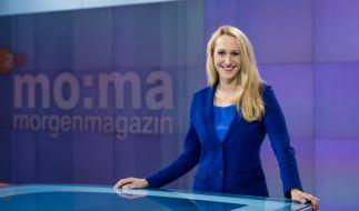 """Charlotte Potts moderiert seit 2017 in Vertretung das """"ZDF-Morgenmagazin"""". (Foto)"""