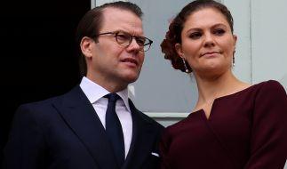 Kronprinzessin Victoria und Prinz Daniel von Schweden sind an Covid-19 erkrankt. (Foto)