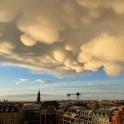 """""""Wattebällchenapokalypse!"""" Seltenes Wetter-Phänomen nach Gewitter (Foto)"""