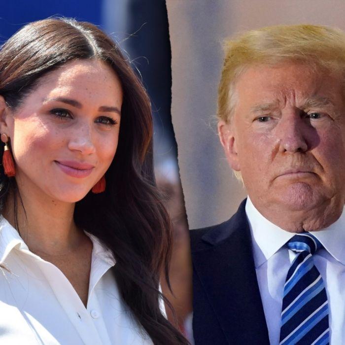 Angst vor Cancel Culture? DARUM lästert Trump ungern über Meghan Markle (Foto)