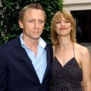 Heike Makatsch mit ihrem Ex-Freund Daniel Craig bei einer Vernissage in der Galerie Camerawork im Jahr 2003.