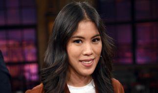 "Mai Thi Nguyen-Kim im Studio der WDR-Talkshow ""Kölner Treff"". (Foto)"