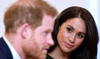 Prinz Harry und Meghan Markle müssen mal wieder unschöne Schlagzeilen über sich ergehen lassen. (Foto)