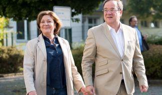 Susanne Laschet mit ihren Ehemann Armin Laschet. (Foto)