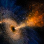 Mit 177.000 km/h! Schwarzes Loch rast durch Weltraum (Foto)