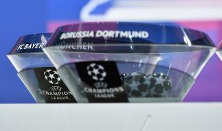 Die Champions League Auslosung der Viertelfinal-Partien finden am Freitag in Nyin statt. (Foto)